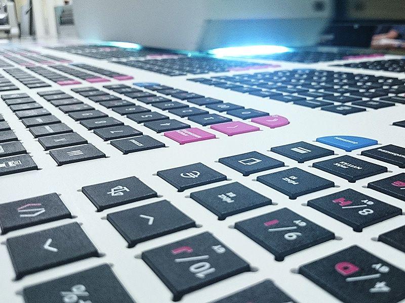 Billentyűzet nyomtatás